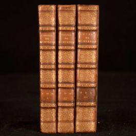 1813 3vols Oeuvres Diverses et Contes D'Antoine Hamilton