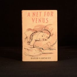 1959 David Garnett A Net for Venus First Edition First Impression Dustwrapper