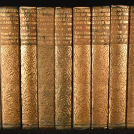 1899-1900 The Life and Works of Charles Lamb