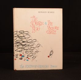 1968 The Square Egg and the Vicious Circle First Edition Collection Ronald Searle
