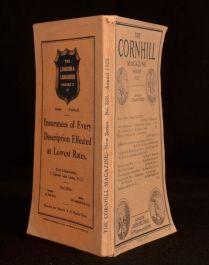 1925 The Cornhill Magazine ed Leonard Huxley Short Story Poems Literary Critic