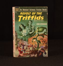 1952 Revolt of the Triffids The Day of the Triffids John Wyndham First Paperback U.S Edition