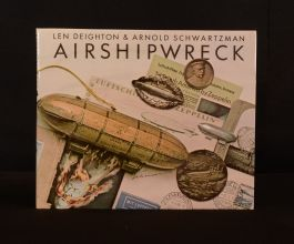 1978 Airshipwreck Len Deighton Arnold Schwartzman Illus First Edition DW