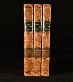 1820 The Lives of the Most Eminent English Poets