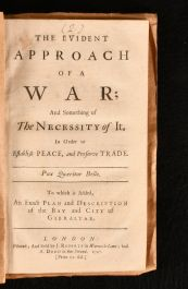 1727 The Evidence Approach of a War; and Something of the Necessity of it