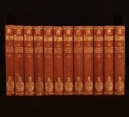 c1866 12vols of The Handy-Volume Shakspeare Plays and Sonnets