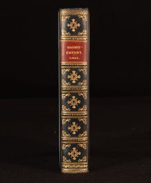 1910 Edna Lyall Knight-Errant Relfe Binding Novel Prize Binding Wanstead College
