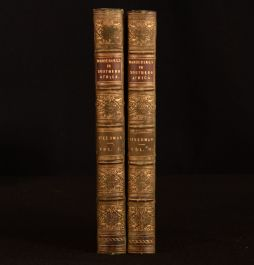 1835 2vol Wanderings and Adventures in the Interior of Southern Africa A Steedman 1st