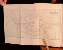 1900 2vol The Madeira Islands Anthony J Drexel Biddle Maps First UK Edition