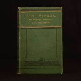 1876 South Australia William Harcus History Production Illustrated Travel