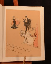 1905 A Gay Dog Story of a Foolish Year Cecil Aldin First Edition Colour Illustrated