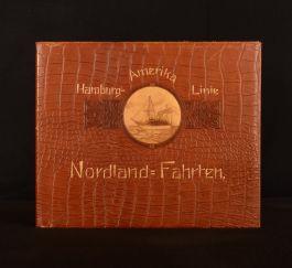 1908 Hamburg-Amerika Linie Nordland-Fahrten German Illustrated
