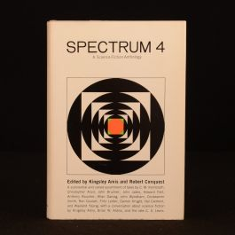 1965 Spectrum 4 Science Fiction Anthology First US Edition Dustwrapper