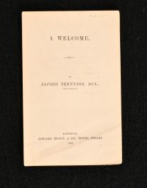 1863 A Welcome