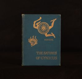 1892 The Satires of Cynicus Illustrated Signed Author's Presentation Copy