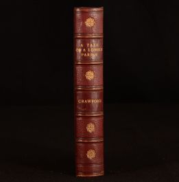 1886 A Tale of a Lonely Parish F Marion Crawford New Edition