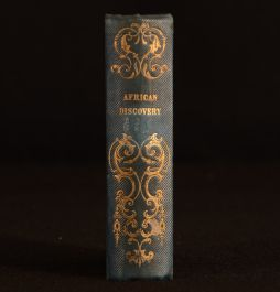 1845 African Discovery a Narrative of Travel and Adventure in Central Africa Mungo Park Scarce