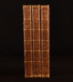 1831 3vol The Bravo A Venetian Story J Fenimore Cooper First Edition Novel