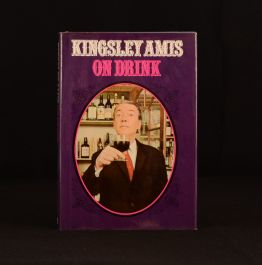 1973 Kingsley Amis On Drink First Edition Alcohol U.S Edition