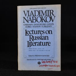1980 Lectures on Russian Literature
