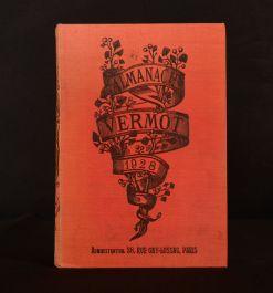 1928 Almanach Vermot Maurice Vermot French Periodical Illus Colour Plates 1st