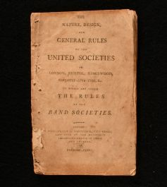 1796 The Nature, Design, and General Rules of the United Societies in London