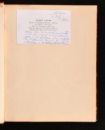 1934 Serge Lifar Destin d'Un Danseur
