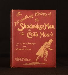 c1913 The Marvellous History of the Shadowless Man and the Cold Heart Chamisso Hauff Robson