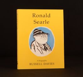 2003 Ronald Searle A Biography Russell Davies First Edition Dustwrapper