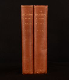 1906 2vol The Decameron of Giovanni Boccaccio Louis Chalon Illustrated