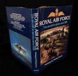 1981 Royal Air Force AEROPLANES Military History TURNER