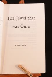 1991 The Jewel That Was Ours Colin Dexter Proof Copy Inspector Morse