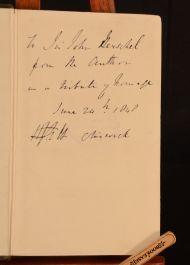 1848 Exact Philosophy Hughes Fraser Halle Presentation Copy John Herschel 1st Ed