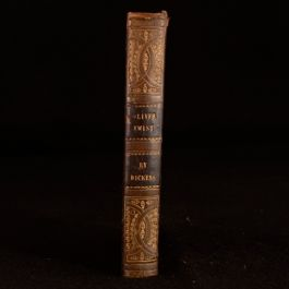 1846 The Adventures of Oliver Twist Charles Dickens New Ed From Parts Davies