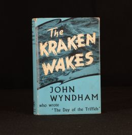1953 The Kraken Wakes First Edition Science Fiction Novel John Wyndham
