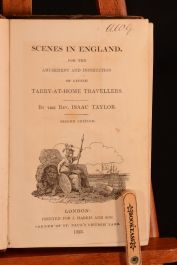 1823 Scenes in England Isaac Taylor Illus Folding Frontispiece Children's Travel