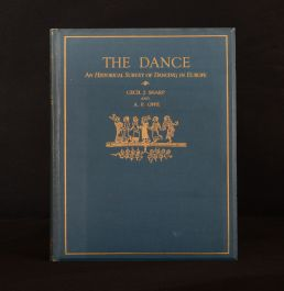 1924 Dance Historical Survey of Dancing in Europe Sharp Oppe Colour Plates 1st