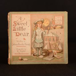1883 A Sweet Little Dear Juliana Horatia Ewing R. Andre Illustrated Very Scarce