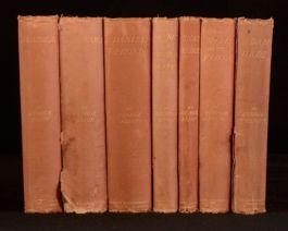 c1880-1890 7vols The Novels of George Eliot Adam Bede Mill on the Floss Romola