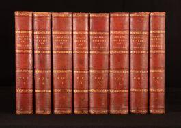 1819-30 8vols A History of England Rev John Lingard Tudor Roman M'Cann
