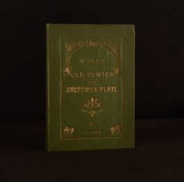 1903 Handbook of Information on Pewter and Sheffield Plate William Redman