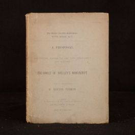 1887 A Proposal for Putting Reform to the Vote Throughout the Kingdom Shelley