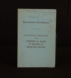 1949 Interim Report of the Committee on Floods in Relation to Reservoir Practice