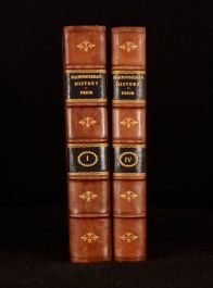 1821 Two Vols David Price Mahommedan History 1st Edition Half Calf With Gilt