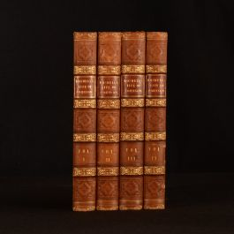 1823 4vol The Life of Samuel Johnson James Boswell Folding Plates Frontispiece