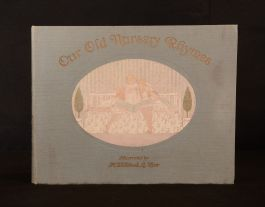 1911 Our Old Nursery Rhymes A. Moffat Willebeek Le Mair Illus Colour Plates 1st