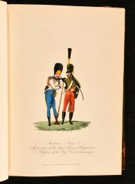 1812 The Military Costume of Europe Exhibited in a Series of Highly Finished Military Figures