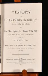 1897 History of Freemasonry in Whitby, From 1764 to 1897