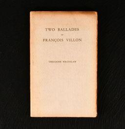 1933 Two Ballades