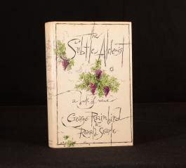 1973 The Subtle Alchemist A Book of Wine George Rainbird Ronald Searle